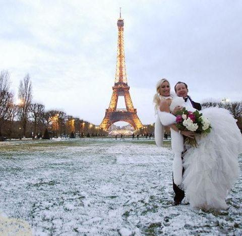 Подготовка к свадьбе во французском стиле